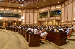 Members of parliament during a session. PHOTO/MAJLIS