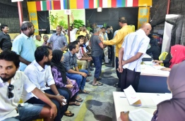 MDP's Chairperson Elections 2017. PHOTO:Hussain Waheed/Mihaaru