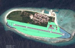 A drawing of the airport to be developed at R.Fainu.