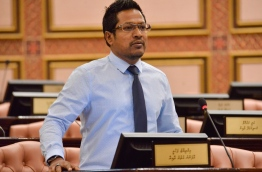 Lawmaker Imthiyaz Fahmy. PHOTO:Parliament