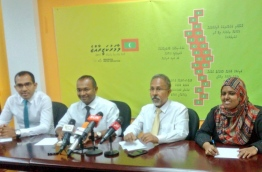 Press Conference of MUO. PHOTO/MDP