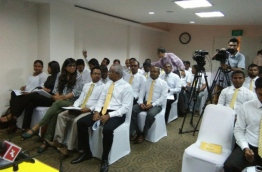 Meeting of MDP National Committee. PHOTO/MDP