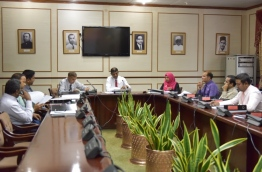 During a meeting of the parliament's Committee on Oversight of the Government. FILE PHOTO/MIHAARU
