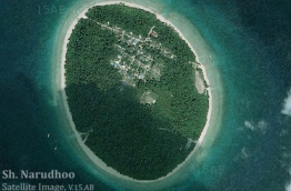 Satellite image of Sh. Narudhoo.