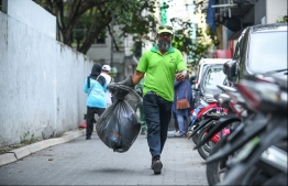 WAMCO Male' Cleaning Day. PHOTO: HUSSAIN WAHEED/MIHAARU