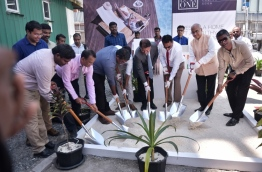 TATA begins the work of the land plot at Odion