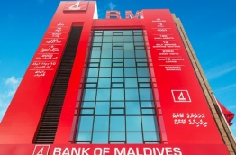 The main branch of BML in capital Male. PHOTO/BML