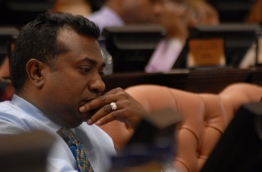 Former lawmaker of Kaashidhoo constituency and owner of Yacht Tours Abdulla Jabir. PHOTO:PARLIAMENT