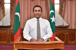 President Abdulla Yameen Abdul Gayoom sends greetings of World Press Freedom Day PHOTO:President Offic