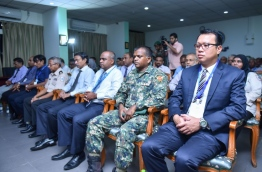 Inauguration of CASP-AP's aviation security programme workshops in the Maldives. PHOTO: HUSSAIN WAHEED/MIHAARU