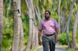 Jumhoory Party leader Qasim Ibrahim: His lawyers claim that he was released with unlawful conditions that deprive him of certain basic rights. PHOTO: Nishan Ali/Mihaaru