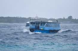 MET has warned of rough weather in north and central Maldives over the next three days. PHOTO/MIHAARU