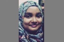 Aishath Raaiha, 24, of Raa atoll Maduvvari island