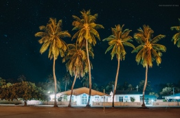 View of council building on harbour front in G.Dh. Rathafandhoo. PHOTO/AISHATH NAJ