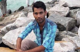 Sumon Miah, the Bangladeshi national who confessed to killing Ismail Umar, a mechanic at the Ihavandhoo ice plant.