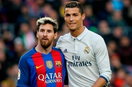 Lionel Messi of FC Barcelona and Cristiano Ronaldo (Photo: Alex Gallardo)