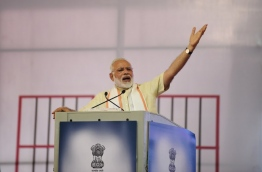 Modi, on June 29, condemned the murder in the name of protecting cows, which are worshipped by the country's majority Hindus, after a string of killings targeting Muslims and other minorities. / AFP PHOTO / SAM PANTHAKY