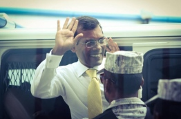 Former President Mohamed Nasheed. PHOTO/AHMED AZIM