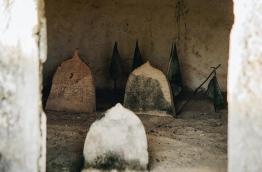 Graves at Gemiskiiy, Fuvahmulah. PHOTO/AISHATH NAJ
