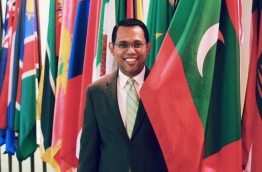 Ahmed Sareer, the newly appointed Foreign Secretary of the Maldives