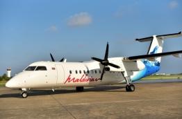 An aircraft of Maldivian. PHOTO/MIHAARU