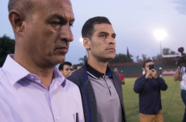 Mexican footballer Rafael Márquez, a former captain of the Aztec national team, denied any involvement with criminal organizations on Wednesday after being accused of links to drug trafficking by the US Department of the Treasury. / AFP PHOTO / STR