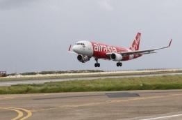 Thai AirAsia's inaugural flight lands in VIA.