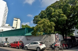 One of the houses up for sale in Male PHOTO/MIHAARU