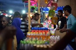 From the night market that was held in Male in 2016. PHOTO/MIHAARU
