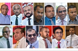 Composite image of the opposition lawmakers currently facing criminal trials. IMAGE/MIHAARU
