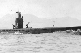 Sentaka - the I-201-class submarine of the Imperial Japanese Navy during World War II. PHOTO/UNKNOWN