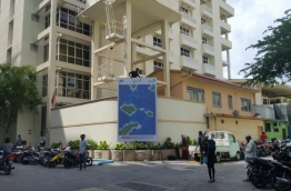 FEN Building which houses MWSC in Male City. PHOTO/MIHAARU