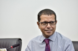 The permanent appointee to the United Nations from the Maldives, Dr Ali Naseer --