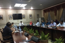Members of the Committee on Oversight of the Government hold meeting to discuss the government's controversial flat distribution from its first social housing project. PHOTO/MIHAARU