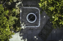Garden well still used for drinking water in a house in S. Hithadhoo. PHOTO/AISHATH NAJ