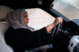 Saudi Arabia will allow women to drive from next June, state media said on September 26, 2017 in a historic decision that makes the Gulf kingdom the last country in the world to permit women behind the wheel. / AFP PHOTO / Reem BAESHEN