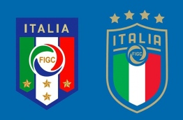 The Italian Football Federation (FIGC) on Monday unveiled its new logo with four stars representing the country's World Cup triumphs ahead of the 2018 finals in Russia. PHOTO/GEO.TV