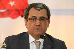 Ahmet Yildiz, the deputy minister of the Turkish foreign ministry: he called on member states of the OIC to play more active roles in mediation at the first OIC Member States Conference on Mediation, held in Istanbul on November 21, 2017. PHOTO/NEW VISION