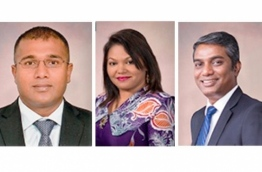 The new members appointed to MMA's Board of Directors (L-R): Ihsan, Idhuham and Janah.