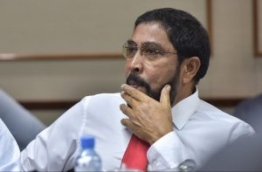 Jumhoory Party leader Qasim Ibrahim; the bank accounts of the wealthy tycoon's Villa Shipping and Trading Company have been frozen. PHOTO/MIHAARU