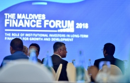 A photograph of the annual Finance Forum held in 2018. PHOTO: NISHAN ALI / MIHAARU