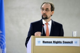 United Nations Human Rights High Commissioner Zeid Ra'ad Al Hussein . PHOTO/AFP
