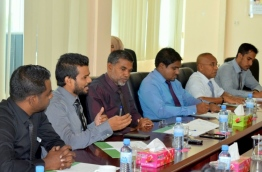 Members of the Election Commission. PHOTO/EC
