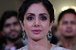 "Veteran Bollywood actress Sridevi Kapoor, considered by many to be the first female superstar of Hindi cinema, has died after suffering a heart attack in Dubai, her family told PTI on February 25, 2018. / AFP PHOTO / Sujit Jaiswal / ""The erroneous mention[s] appearing in the metadata of this photol has been modified in AFP systems in the following manner: [Sridevi in slug/title] instead of [Svidevi]. Please immediately remove the erroneous mention[s] from all your online services and delete it (them) from your servers. If you have been authorized by AFP to distribute it (them) to third parties, please ensure that the same actions are carried out by them. Failure to promptly comply with these instructions will entail liability on your part for any continued or post notification usage. Therefore we thank you very much for all your attention and prompt action. We are sorry for the inconvenience this notification may cause and remain at your disposal for any further information you may require."""