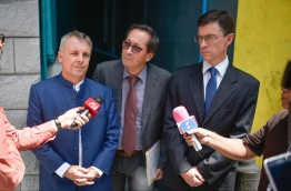 EU officials after meeting with opposition