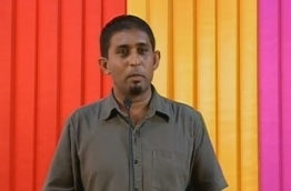 Ahmed Adhuham, the president of opposition Maldivian Democratic Party (MDP)'s Feydhoo division.