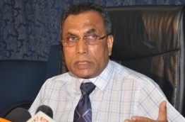Former home minister Hassan Afeef