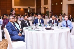 Maldives Finance Forum 2017 held in Kurumba Maldives resort. PHOTO: HUSSAIN WAHEED/MIHAARU