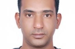 Gururaj Kishore, who was arrested from Feydhoo, Addu City on April 3, 2018 --