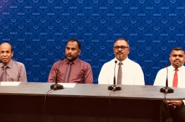 The press conference held about the international Quran recitation competition. PHOTO/ISLAMIC MINISTRY